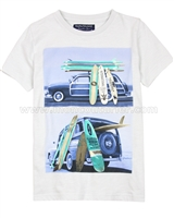 Mayoral Boy's T-shirt with Road Trip Print