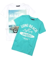 Mayoral Boy's Surfer T-shirt, Set of Two