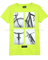 Mayoral Boy's T-shirt with Print Lime