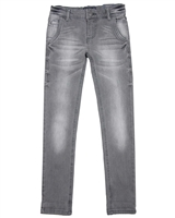 Mayoral Junior Boys' Gray Slim Denim Pants