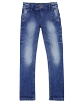 Mayoral Junior Boys' Blue Slim Denim Pants