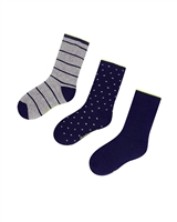 Mayoral Junior Boys' 3-pair Socks Set Navy