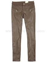 Mayoral Junior Girl's Ponti / Pleather Pants