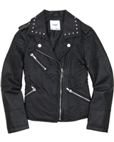 Mayoral Girl's Combo Jacket Black