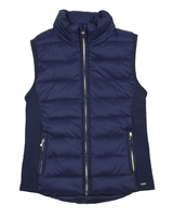 Mayoral Junior Girl's Navy Puffer Vest