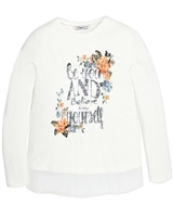 Mayoral Junior Girl's Top with Floral Print