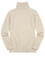 Mayoral Junior Girl's Basic Beige Turtleneck
