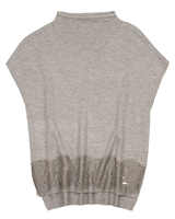 Mayoral Junior Girl's Knit Vest with Lace