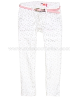 Nono Printed Pants with Belt