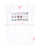 Nono T-shirt with Printed Glasses