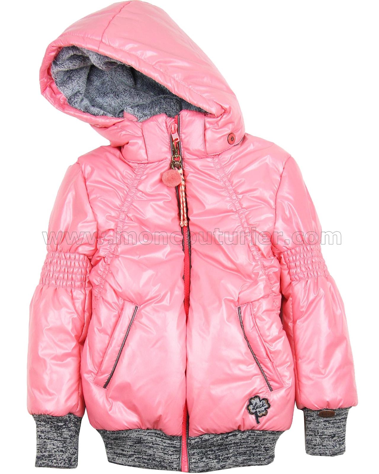 Nono Short Puffer Coat Pink Nono Nono Fall Winter 2016