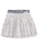 Nono Tulle Skirt with Printed Underlay