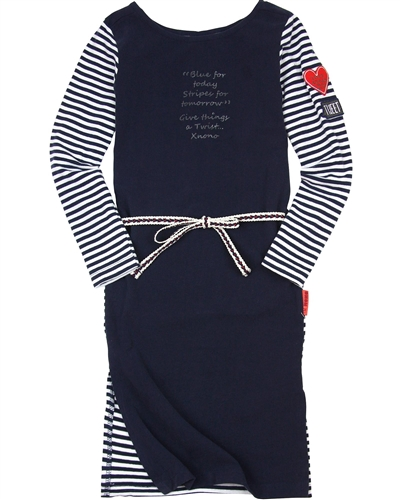 Nono Knee-length Striped Dress