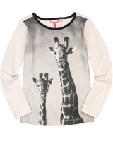 Nono T-shirt with Giraffe Print