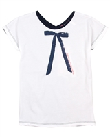 Nono T-shirt with Printed Bow