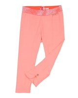 Nono Capri Leggings in Neon Coral