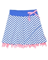 Nono Striped Jersey Skirt