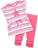 Petit Lem Little Star Tunic and Leggings Set