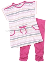 Petit Lem Origami Fish Tunic and Leggings Set