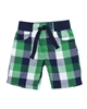 Petit Lem Plaid Shorts Nature Boy