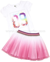 Petit Lem T-shirt and Tutu Skirt Tropical Fever