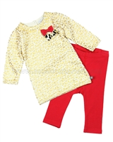 Petit Lem Knit Dress and Leggings Animalicious