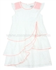 s.Oliver Girls' Flounce Dress White