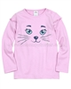 s.Oliver Baby Girls Top with Cat Face Pale Pink