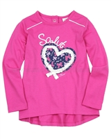 s.Oliver Baby Girls Long Sleeve Top with Heart