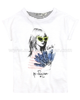 Tumble n Dry Girls T-shirt Gabriella White