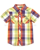 Tumble n Dry Boys Plaid Shirt
