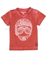 Tumble n Dry Baby Boys' T-shirt Cedric Red