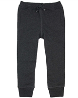 Art and Eden Boy's Basic Sweatpants in Dark Gray sizes 4-10