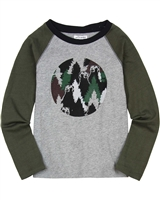 Art and Eden Boy's Two Colour-way T-shirt size 4-10