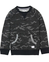 Art and Eden Boy's Sweatshirt in Digital Camo Print