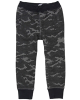 Art and Eden Boy's Sweatpants in Digital Camo Print