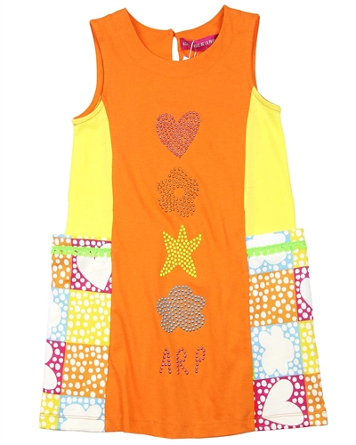 Agatha Ruiz de la Prada Symbols Sleeveless Dress