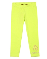 Agatha Ruiz de la Prada Solid Leggings with Flower