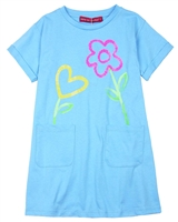 Agatha Ruiz de la Prada T-shirt Dress with Flowers