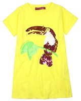 Agatha Ruiz de la Prada T-shirt Dress with Parrot