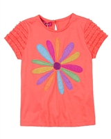 Agatha Ruiz de la Prada T-shirt with Ruffles Sleeves