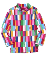 Agatha Ruiz de la Prada Multicolour Mock Neck Top