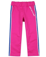 Agatha Ruiz de la Prada Terry Pants with Side Stripes