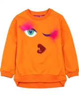 Agatha Ruiz de la Prada Sweatshirt with Eyes Applique