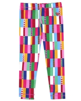 Agatha Ruiz de la Prada Multi-colour Tile Print Leggings
