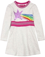 Agatha Ruiz de la Prada Sweatshirt Dress with Rib Knit Waistband