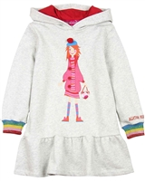 Agatha Ruiz de la Prada Hooded Sweatshirt Dress