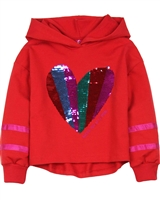 Agatha Ruiz de la Prada Sweatshirt with Sequin Heart