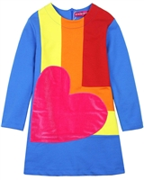 Agatha Ruiz de la Prada Colour-block Terry Dress