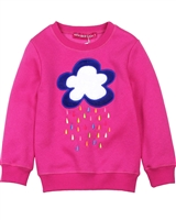Agatha Ruiz de la Prada Sweatshirt with Cloud Applique